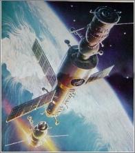 Salyut-6 space station